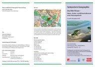 Symposium Geographie - Landesinstitut für Lehrerbildung und ...