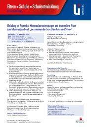 Eltern Schule Schulentwicklung - Landesinstitut für Lehrerbildung ...