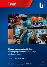 Naturwissenschaften fördern - Landesinstitut für Lehrerbildung und ...