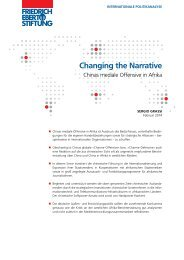 Changing the Narrative - Bibliothek der Friedrich-Ebert-Stiftung