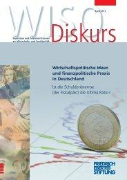 Wirtschaftspolitische Ideen und finanzpolitische Praxis in Deutschland