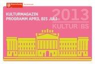 Kulturmagazin Schloss - Stadt Braunschweig