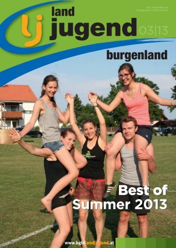 Best of Summer 2013 Best of Summer 2013 - Landjugend Österreich