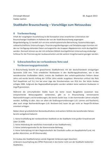 Herr Jochim, Herr Menzel - Stadt Braunschweig