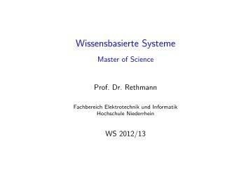 Geschichte und Anwendungen - Hochschule Niederrhein