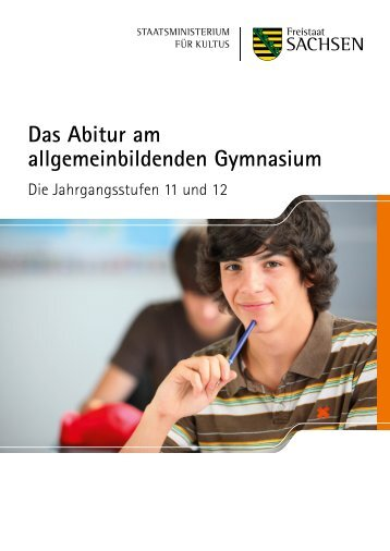 Das Abitur am allgemeinbildenden Gymnasium - Publikationen
