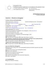 Auftragsbekanntmachung - Einkauf von Falthandtuch- und ... - Essen