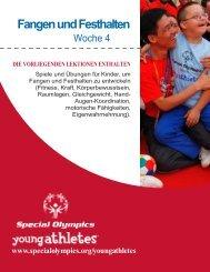 Fangen und Festhalten - Special Olympics