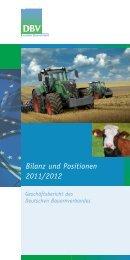 Bilanz und Positionen 2011/2012