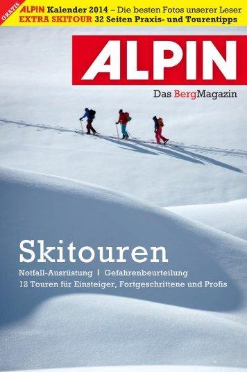 Skitour - 32 Seiten Praxis - Alpin.de