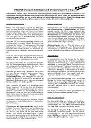 Antrag auf - Ministerium für Integration, Familie, Kinder, Jugend und ...