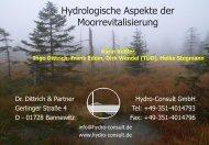 Aufgaben eines Hydrologen und Grundlagen der ...