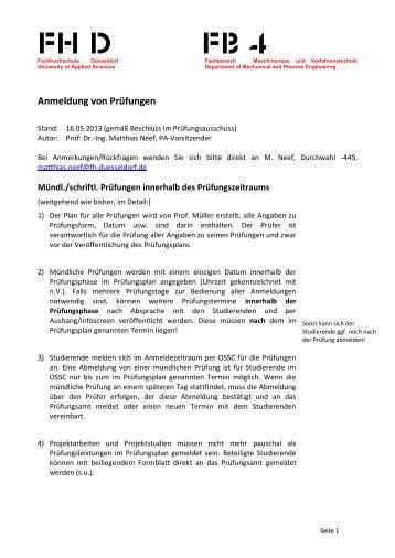hfpv thesis anmeldung