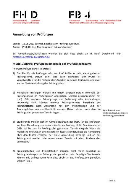fh frankfurt prüfungsamt