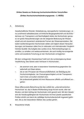 Gesetzentwurf (Einbringungsfassung) [PDF 1.6 MB] - Ministerium für ...