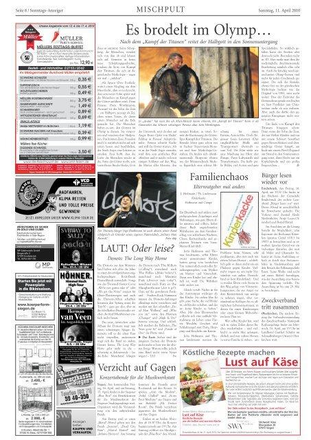 Ausgabe E, Olpe, (15.59 MB) - Siegerländer Wochen-Anzeiger