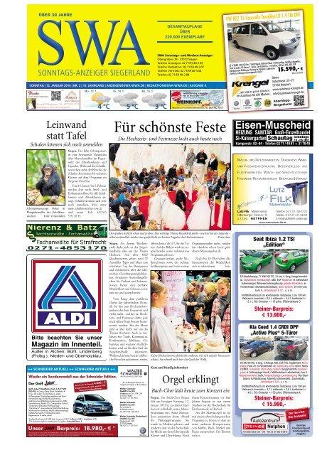 Ausgabe A, Siegen, Wilnsdorf (16.47 MB) - Siegerländer Wochen ...