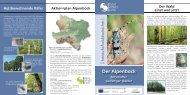 Alpenbock-Informationsfolder - Naturschutzbund NÖ