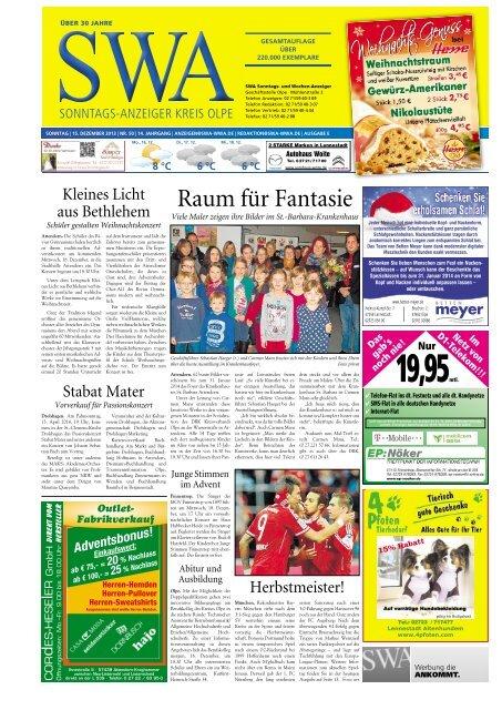 Ausgabe E Olpe 2606 Mb Siegerländer Wochen Anzeiger