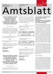 Amtsblatt der Stadt Nürnberg - Ausgabe 01/2014 (08.01.2014)