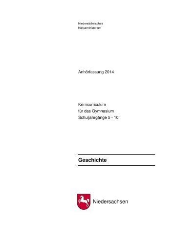 Geschichte Niedersachsen - nline