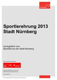 Liste aller Sportlerinnen und Sportler nach Sportart - Stadt Nürnberg