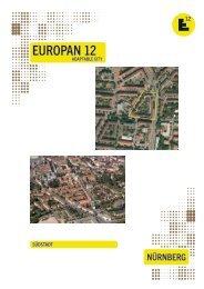 Auslobungsunterlagen Europan 12 Wettbewerb - Stadt Nürnberg