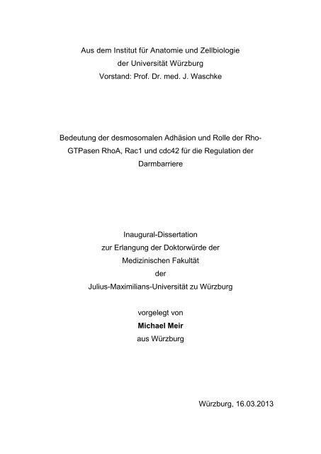 Diss_Meir_Michael.pdf (2304 KB) - OPUS Würzburg - Universität ...