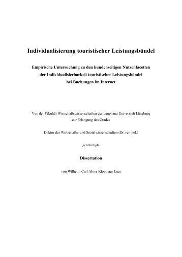 Dokument 1.pdf - Leuphana Universität Lüneburg