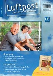 Lungenkrebs Bewegung - patienten-bibliothek.de