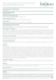 Informationsblatt - Fondsvermittlung24.de