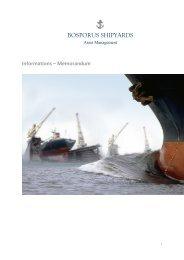 BOSPORUS SHIPYARDS - dima24.de