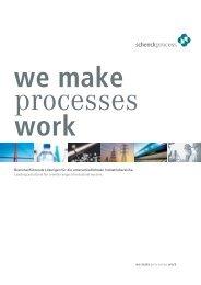 Branchenführende Lösungen für die unterschiedlichsten ...