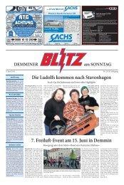 7. Freilu -Event am 15. Juni in Demmin Die Ludolfs kommen nach ...