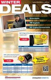 Spezielle Winter- angebote - DAF Trucks Ludwigshafen