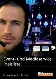 Produktkatalog und Preisliste - Kilchenmann