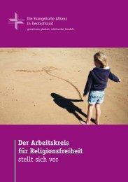Der Arbeitskreis für Religionsfreiheit stellt sich vor - Deutsche ...