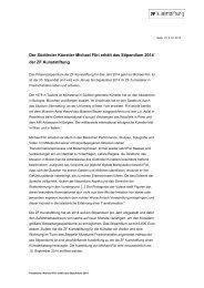 Stipendium 2014 - ZF Friedrichshafen AG