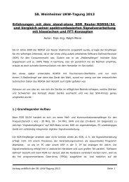 Vorstellung & Testbericht der RDR50/54 Digital ... - Fenu-Radio