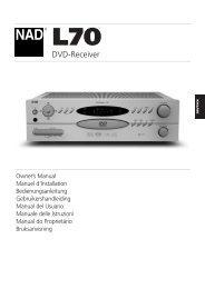 L70 IM german - NAD