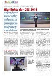 Highlights der CES 2014