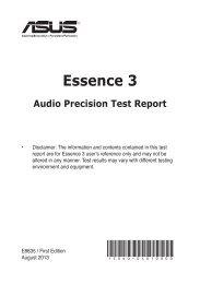 Essence 3 - Asus
