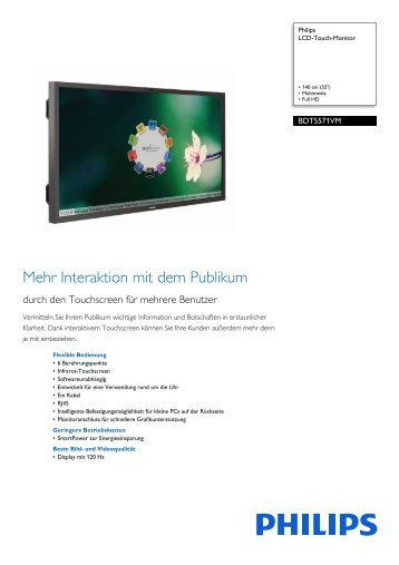 Leaflet BDT5571VM_06 Released Austria (German) High ... - Philips