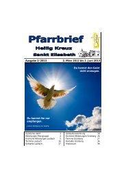 Ausgabe 2/2013 2. März 2012 bis 2. Juni 2013 Du ... - Bistum Mainz