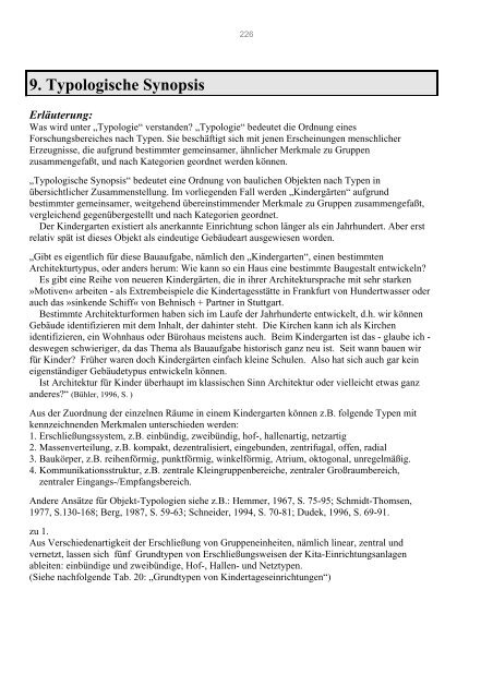 10. Typologische Synopsis - bei DuEPublico