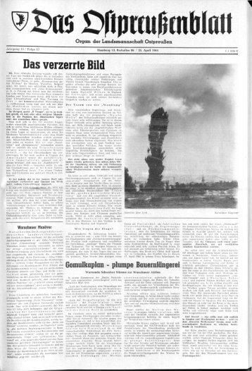 Folge 17 vom 25.04.1964 - Archiv Preussische Allgemeine Zeitung