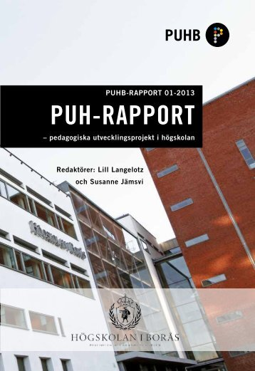 PUH-RAPPORT - BADA - Högskolan i Borås