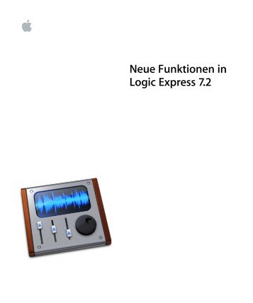 Neue Funktionen in Logic Express 7.2 - Support - Apple
