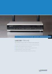 LANCOM 1781A-4G - LANCOM Systems
