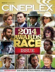 Cineplex Magazine February2014